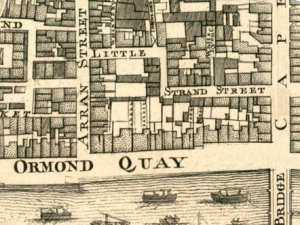 John Rocque's map of Dublin, 1756